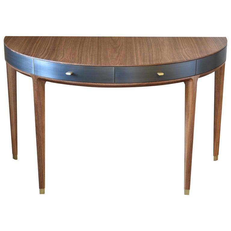 Tulare Demilune Desk For Sale