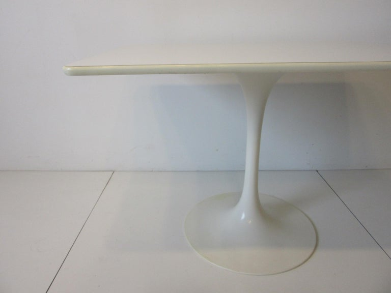 Mid-Century Modern Tulip Cafe / Dining Table by Maurice Burke For Sale