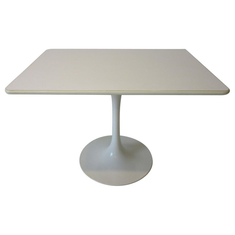 Tulip Cafe / Dining Table by Maurice Burke For Sale