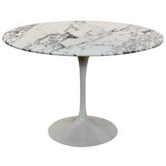 Tulip Dining Table in Calacatta Marble by Eero Saarinen for Knoll International