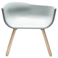 Tulip L Gray Chair by Kazuko Okamoto