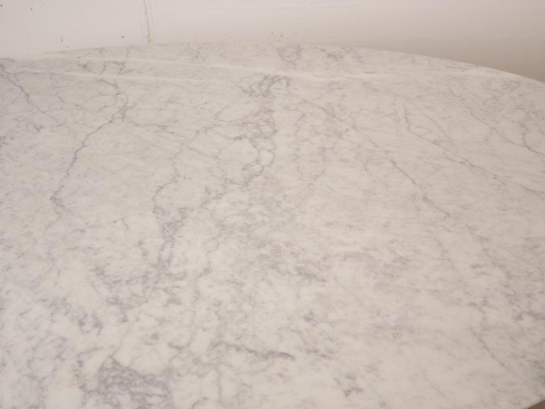 Tulip Oval Marble Dinning Table by Eero Saarinen for Knoll 12