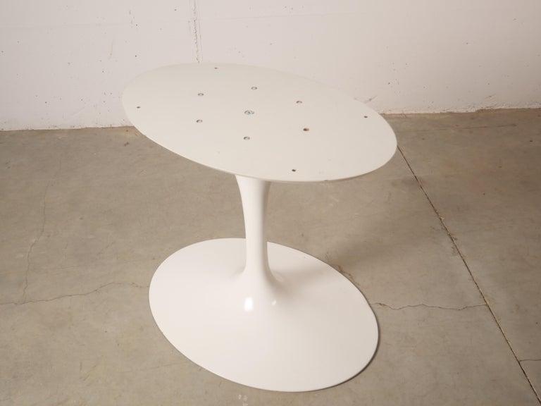 Tulip Oval Marble Dinning Table by Eero Saarinen for Knoll 13