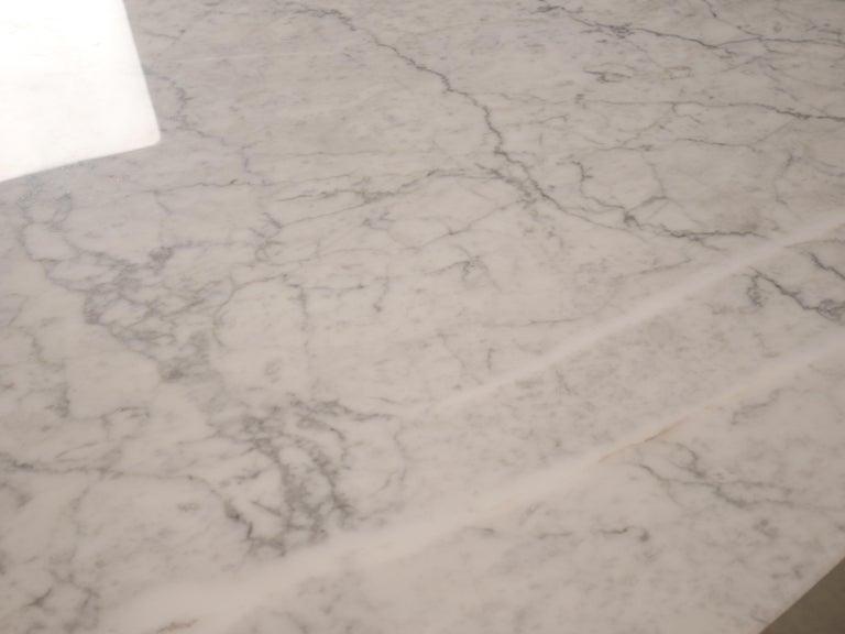 Tulip Oval Marble Dinning Table by Eero Saarinen for Knoll 2