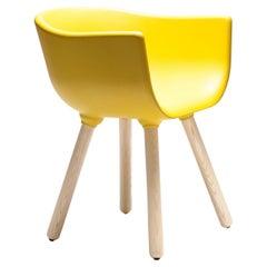 Tulip S Yellow Chair by Kazuko Okamoto
