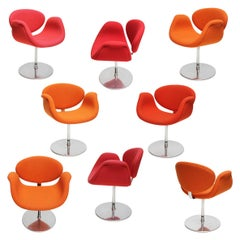 Tulip Swivel Chairs by Pierre Paulin for Artifort, Holland