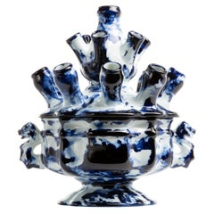 Tulip Vase, by Marcel Wanders, Delft Blue Hand-Painted, 2006, Unlimited Unique