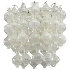 Tulipan Ceiling Flush Mount by J.T. Kalmar, Vienna, 1960
