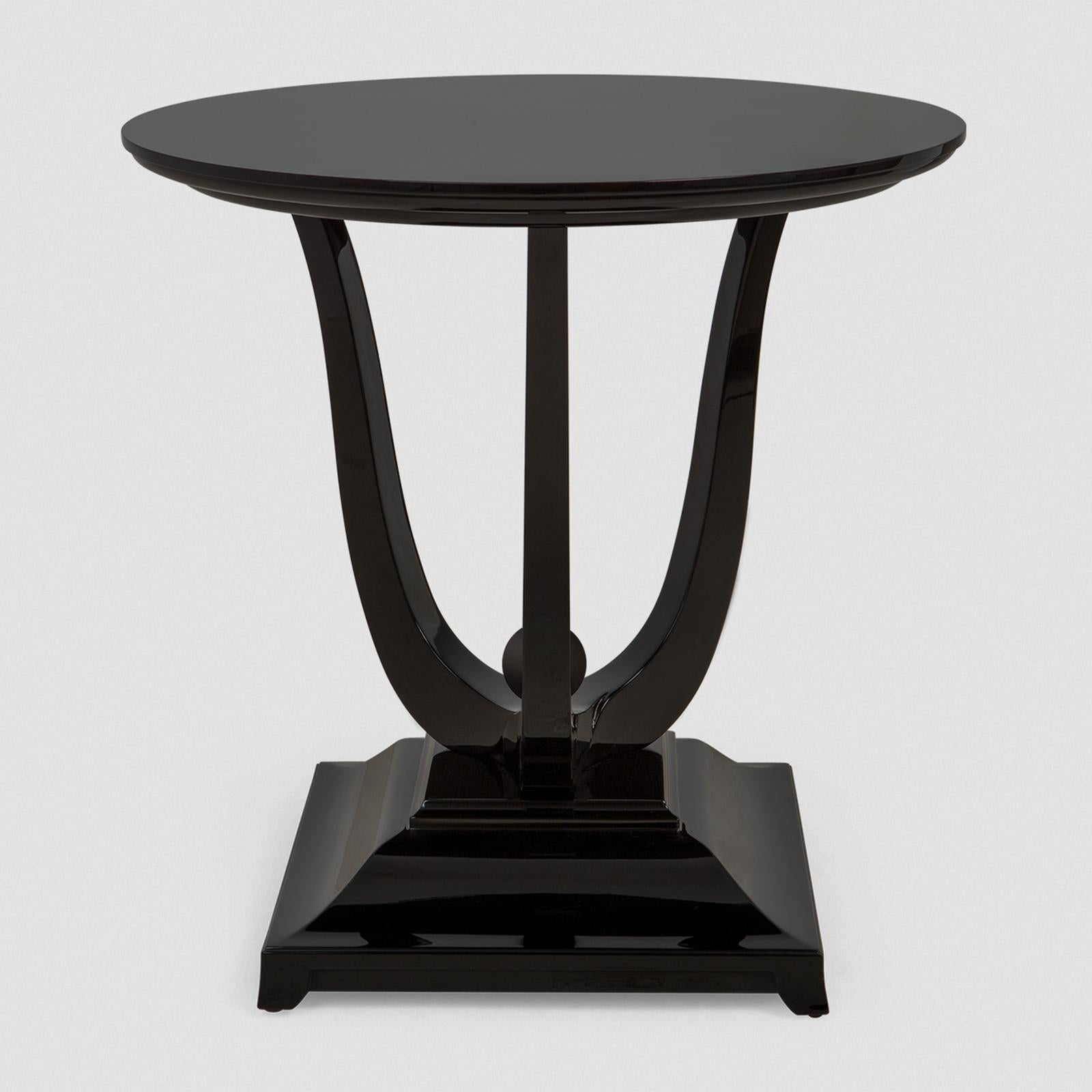 Tulipe Lacquered Side Table