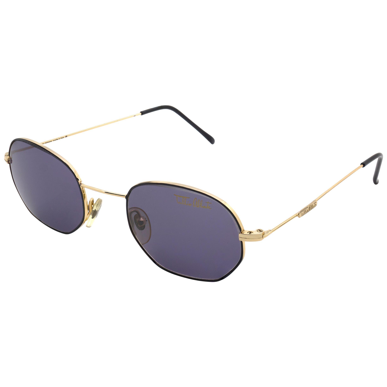 Tullio Abbate Ultra-Lightweight Hexagonal Sunglasses