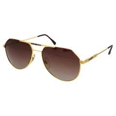 Tullio Abbate vintage aviator sunglasses