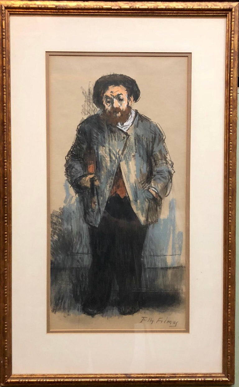 Tully Filmus was an American realist painter. Well known for his Judaica Paintings done with warmth and sensitivity, Jewish subject matter was not by any means his only work. He was born Naftuli (Anatol) Filmus in Ataki, Bessarabia, (now part of