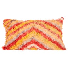 Tulu Pillow Case Fashioned from a Mid-20th Century Tuklu Rug