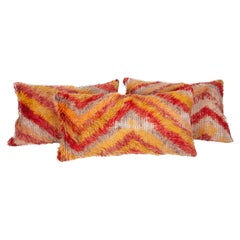 Tulu Pillow Cases Fashioned from a Mid-20th Century Tulu Rug