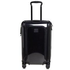TUMI Black Aluminum Tegra Lite Expandable Carry On Luggage