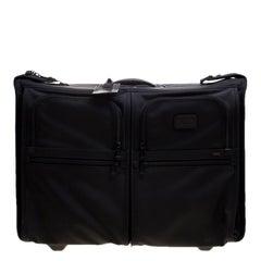 Tumi Black Ballistic Nylon 2 Wheeled Carry-on Alpha Extended Garment Bag