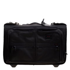 Tumi Black Ballistic Nylon 2 Wheeled Carry-on Alpha Garment Bag