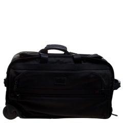 Tumi Black Nylon 2 Wheeled Expandable Carry on Luggage Bag