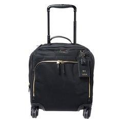 Tumi Black Nylon 4 Wheeled Carry-On Luggage Bag