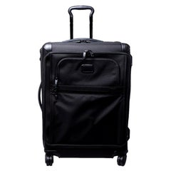 TUMI Black Nylon Alpha 2 Rolling Suitcase