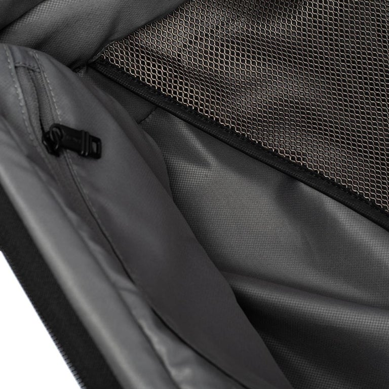 TUMI Black Nylon Alpha 2 Short Trip Expandable 4 Wheel Packing Case Luggage 6
