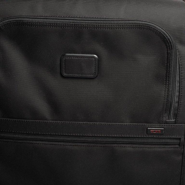 TUMI Black Nylon Alpha 2 Short Trip Expandable 4 Wheel Packing Case Luggage 7