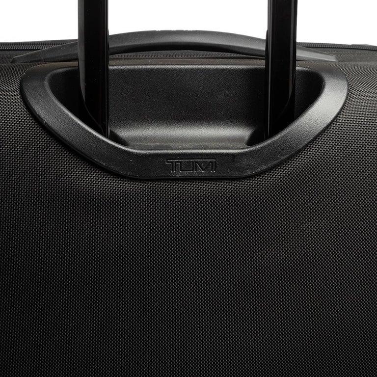 TUMI Black Nylon Alpha 2 Short Trip Expandable 4 Wheel Packing Case Luggage 10