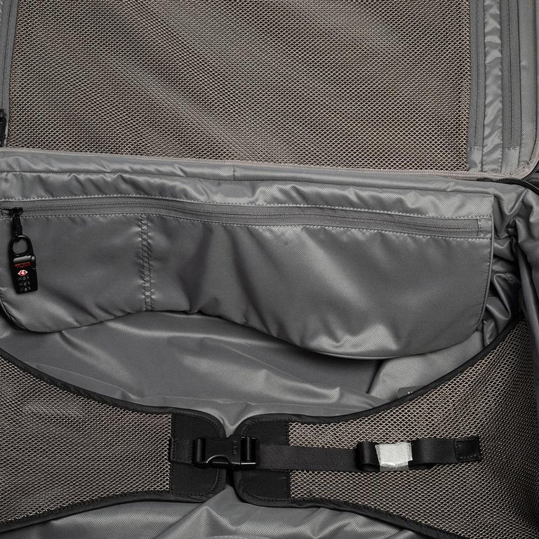 TUMI Black Nylon Alpha 2 Short Trip Expandable 4 Wheel Packing Case Luggage 14