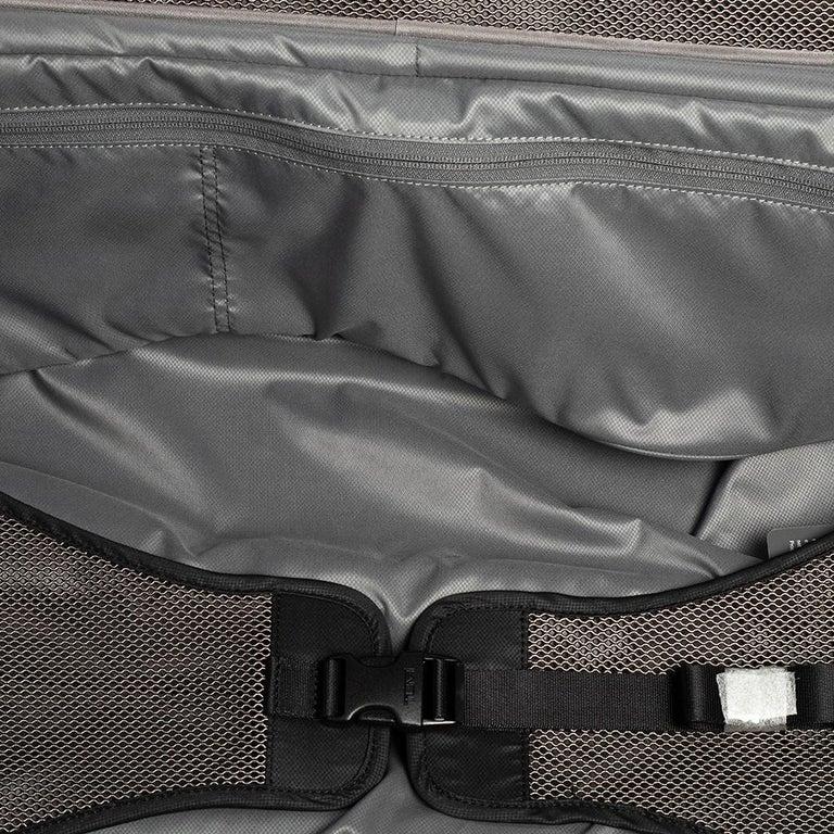 TUMI Black Nylon Alpha 2 Short Trip Expandable 4 Wheel Packing Case Luggage 4