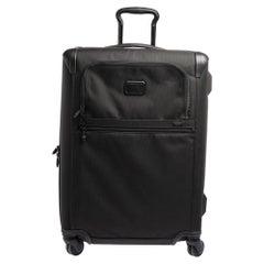 TUMI Black Nylon Alpha 2 Short Trip Expandable 4 Wheel Packing Case Luggage