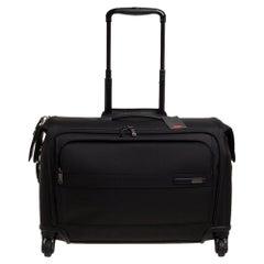 Tumi Black Nylon Gena 2 Carry On 4 Wheel Garment Bag