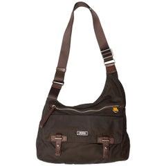 Tumi Brown Nylon Shoulder Bag