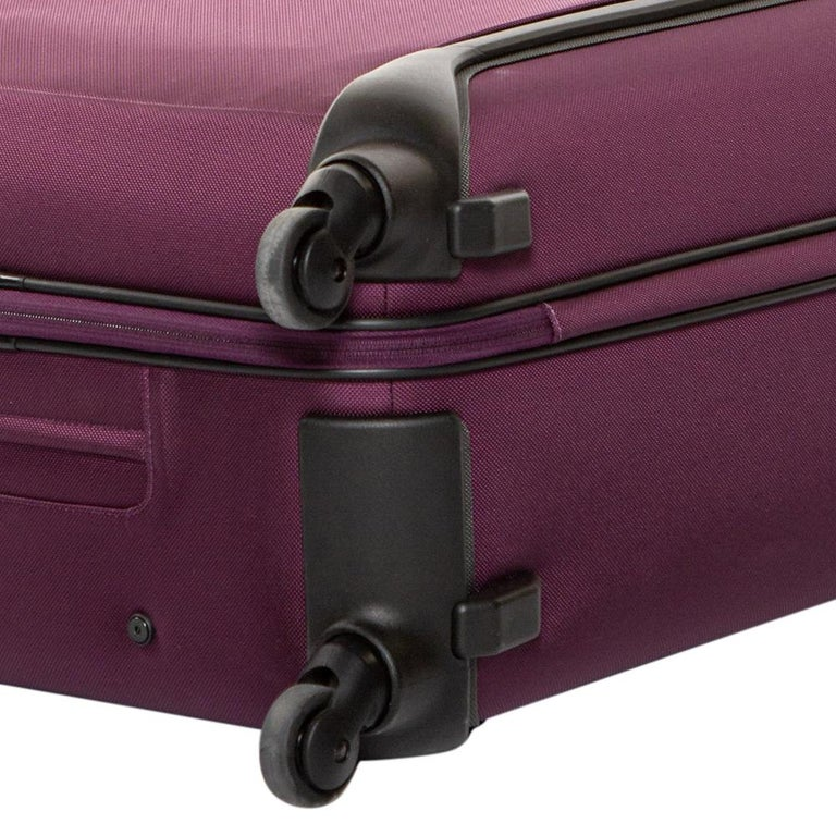 TUMI Purple Nylon Medium Gen 4.2 Lightweight Trip Packing Case Luggage For Sale 5