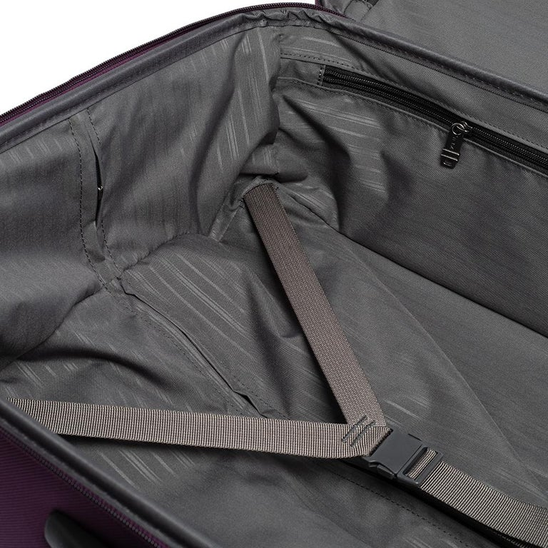 TUMI Purple Nylon Medium Gen 4.2 Lightweight Trip Packing Case Luggage For Sale 7