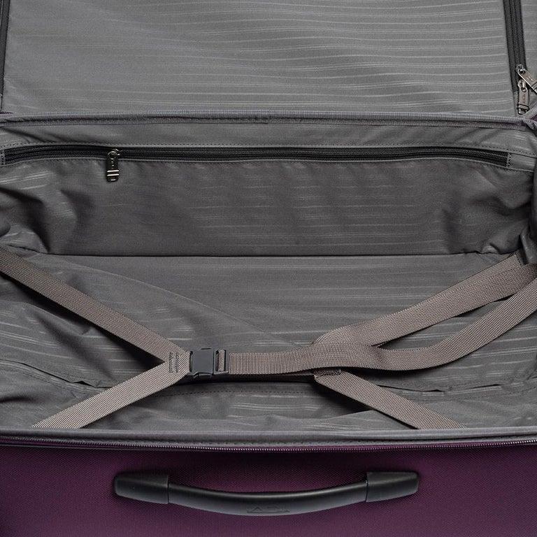 TUMI Purple Nylon Medium Gen 4.2 Lightweight Trip Packing Case Luggage For Sale 8