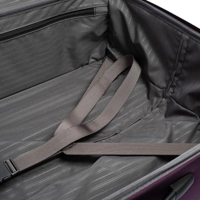 TUMI Purple Nylon Medium Gen 4.2 Lightweight Trip Packing Case Luggage For Sale 10