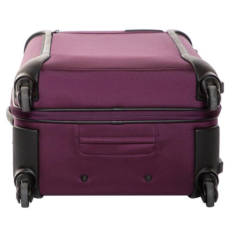Men's TUMI Purple Nylon Medium Gen 4.2 Lightweight Trip Packing Case Luggage For Sale