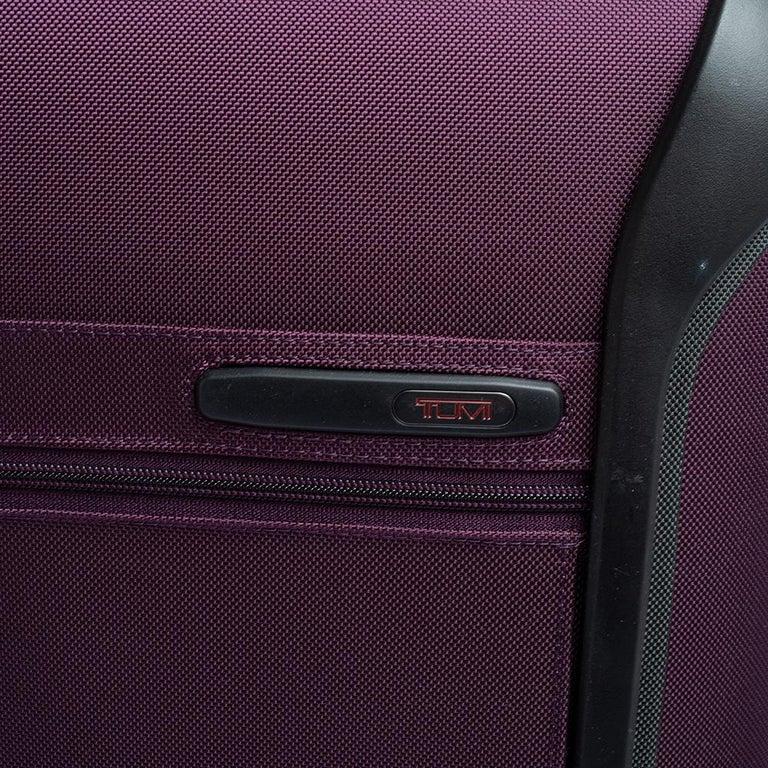 TUMI Purple Nylon Medium Gen 4.2 Lightweight Trip Packing Case Luggage For Sale 1