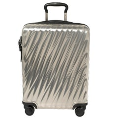 TUMI Sliver Polycarbonate 19 Degree International Carry On Luggage