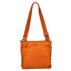 Tumi Warm Tangerine Crossbody Shoulder Bag