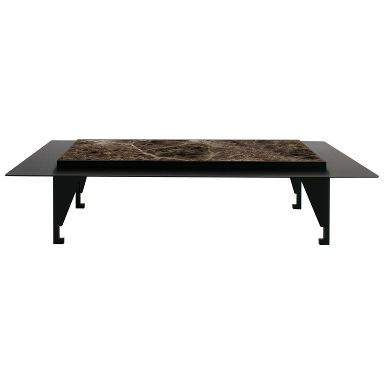 Tungen Marble Table, Jan Garncarek For Sale