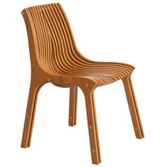 Tupi Brazilian Contemporary Wood Chair by Lattoog