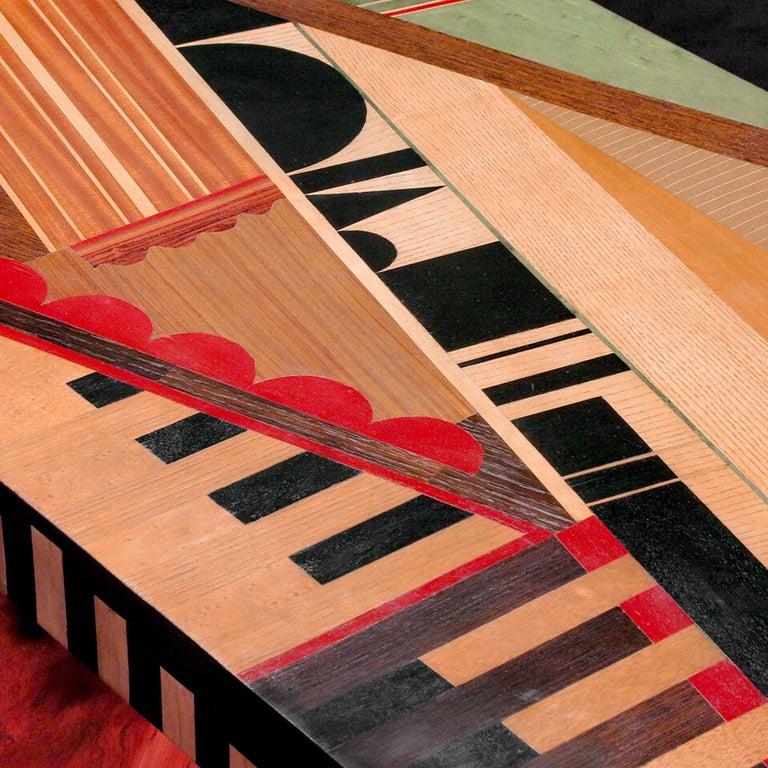 Italian Turandot Bench by Mauro Varotti For Sale
