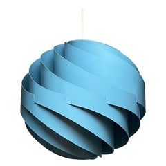 Turbo Ceiling Light by Louis Weisdorf for LYFA, Denmark, 1970