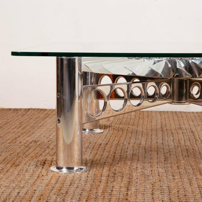 Contemporary Turbofan Rolls-Royce Coffee Table For Sale