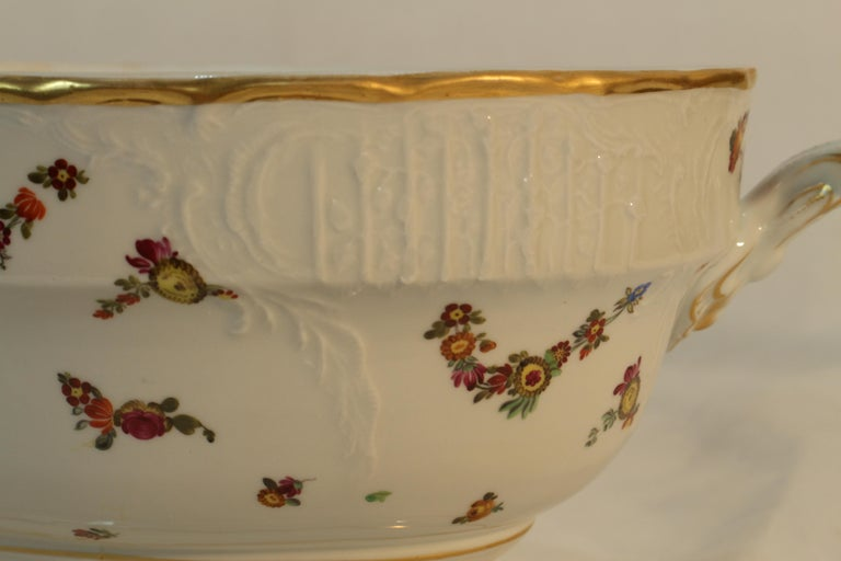 Tureen, Hungary, Late 19th Century Porcelain Hand Painted Herend 7