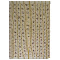 Turkish Cicim Flat-Weave or Blanket, 20th Century