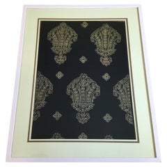 Turkish Hand Embroidery Textile in Shadowbox