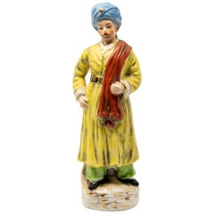 Turkish Inspired Figurine in Ottoman Garments