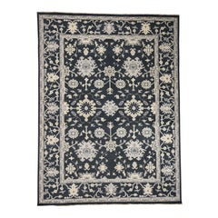 Turkish Knot Oushak Hand Knotted Pure Wool Oriental Rug